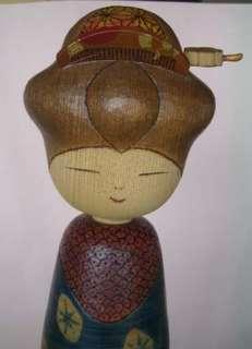 REAL Creative Kokeshi Doll Sansaku EDO MONYOU
