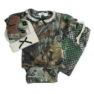 Diaper Shirt Gift Set (Preemie,Realtree Hardwoods) Sports & Outdoors