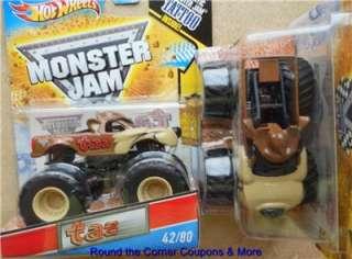 jam series 42 taz tasmanian devil monster jam truck 2011 release