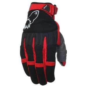 Joe Rocket Big Bang Mens Motorcycle Gloves Red/Black Extra