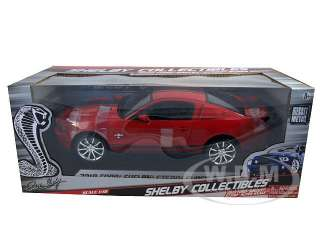 car model of 2010 Shelby Mustang GT500 Super Snake Red die cast car by