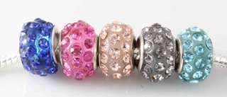 Wholesale Swarovski Crystal Beads Fit Charms Bracelets