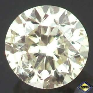 LOVELY AA ROUND BRILLIANT LIGHT YELLOW DIAMOND NATURAL