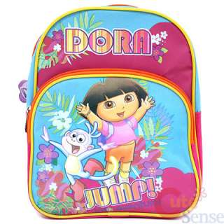 Dora The Explorer Dora & Boots School Toddler Backpack Jump