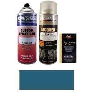 12.5 Oz. Medium Blue Metallic Spray Can Paint Kit for 2001