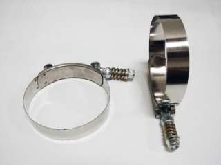 INCH STAINLESS STEEL T  BOLT CLAMP wth spring