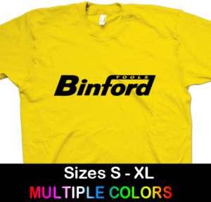 BINFORD TOOLS Home Improvment Funny 2c T Shirt S,M,L,XL
