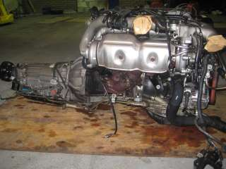 GS300 SUPRA TWIN TURBO ENGINE AUTO TRANS WIRING & ECU 2JZGTE