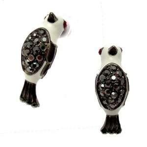 Acosta Jewellery   Hematite Swarovski Crystal Bird