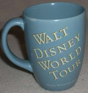 Disney WALT DISNEY WORLD TOUR Mickey Mouse Mug Cup