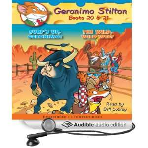 Wild Wild West (Audible Audio Edition): Geronimo Stilton, Bill Lobley