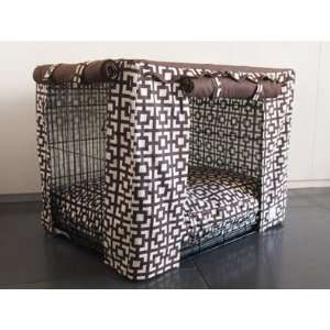 Lattice Dog Crate Cover   Medium 30L x 21W x 24H Pet