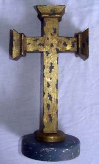 WARRIOR WOOD CROSS Beautiful Ancient Design Hand Made