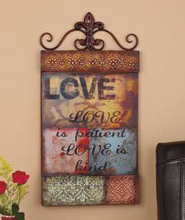 Wall Panels Home wall Decor Faith or Love Quotes Great Gifts