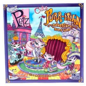 Bratz Petz Catz Purr isian Adventure Board Game Toys