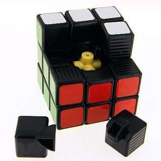 Ghost Hand 3x3x3 Black Speed Rubik Cube G1 + Soft Pouch