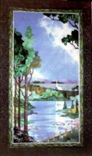 SUMMER ~ 4 Seasons Quilt Pattern Wallhanging