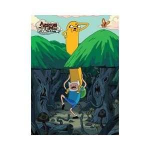 Adventure Time   Jake On Finn Shoulders Magnet