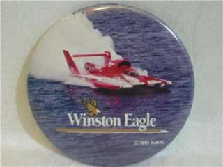 Winston Eagle Hydroplane Button