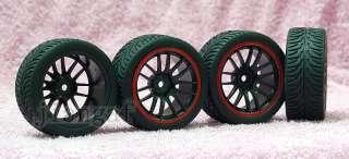 4x1/10 ON ROAD RC CAR Wheel, Rim & Tyre,Tire # X8Y5