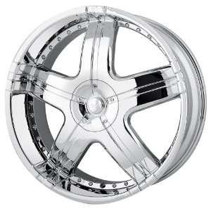 Style MP206 (Chrome) Wheels/Rims 6x139.7 (MP206 24984C) Automotive