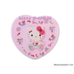 Hello Kitty White Heart Contact Lens Travel Case Beauty