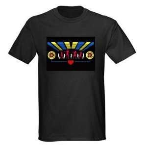 Disco Dancer GADGET LED Light Flash EL T Shirt (4*AAA) 1265348
