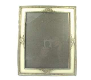 Antique Reverse Painted Glass Portrait Frame c 1920s