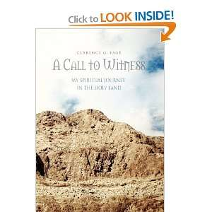 Journey in the Holy Land (9781456896416) Clarence G. Page Books