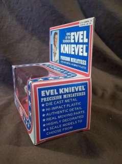 EVEL KNIEVEL DIE CAST PRECISION MINI FUNNY CAR MIB 1ST RELEASE