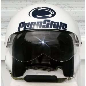 Fighter Pilot Helmet   PSU Football USAF Air Force   Motorcycle Large