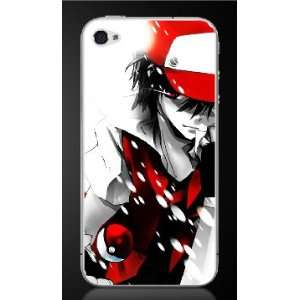 ASH KETCHUM from Pokemon iPhone 4 Skin Decals #1 x2