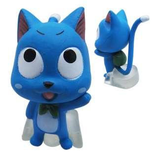 6x Fairy Tail Mini PVC Figure Set Brand New