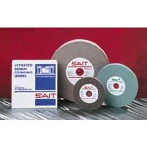United Abrasives/SAIT 28002 6 by 3/4 by 1 A80X Bench Grinding Wheel