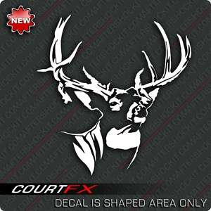 Whitetail Deer Decal Hunting Mossy Sticker