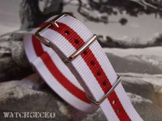 Black Carbon Fibre Watch Strap   Black or Red stitching