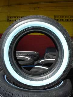 185/70/14 HANKOOK SHAVED WHITE WALL TIRES 1857014