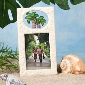Palm Tree Tropical Wedding Frame Favors Health & Personal