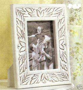 SHABBY COUNTRY CHIC DISTRESSED WOOD 4x6 PICTURE FRAME