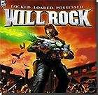 WILL ROCK CD ROM ACTION COMPUTER VIDEO GAME 4 PC NEW