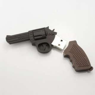 Glock Gun Shaped 4GB 8GB USB Flash Thumb Pen Stick Drive Novelty