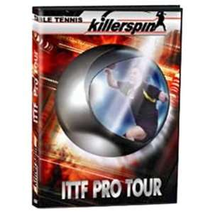 Killerspin Table Tennis 2001 ITTF PRO Tour DVD