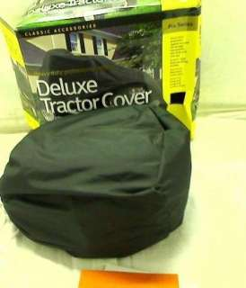 Classic Accessories Deluxe Tractor Cover (Black)