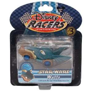 Scale Die Cast Metal Body Race Car   Star Wars (Watto) Toys & Games