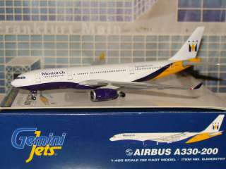 Gemini Jets Monarch Airbus A330  200 GJMON797