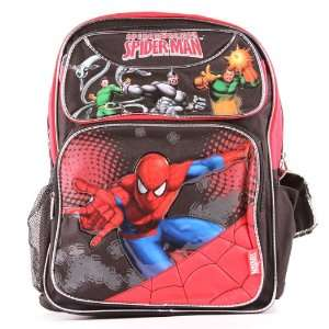Backpack   Spider Man (16 x 12) Toys & Games