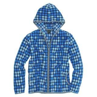Vancl Mens Jacket Mens Warm Robot Pattern Polar Fleece Hoody Jacket 3