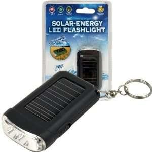 Trademark Global 72 72645BLK, Solar Energy LED Flashlight