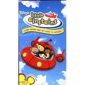 Disneys Little Einsteins CLIMB ABOARD AND EXPLORE VHS 786936287110