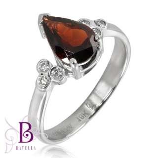 22 Ct Citrine Gem & Round Diamonds Set Ring, Pendant, Earrings 14k